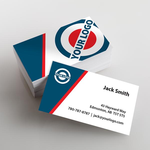 Priority Business Card sample